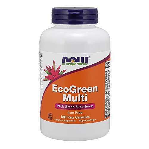 NOW Foods EcoGreen Vitamin Capsules product image