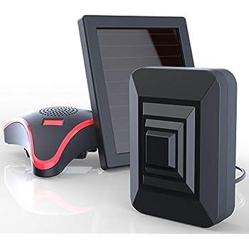 Amazon.com : HTZSAFE Solar Wireless Driveway Alarm System