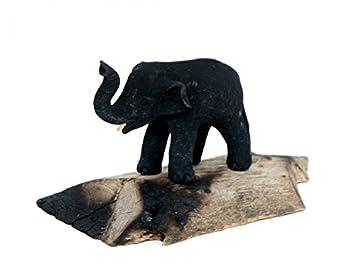 7x Elefanten Figuren Glück Elefant Asia Tierfigur Fengshui Statue Skulptur
