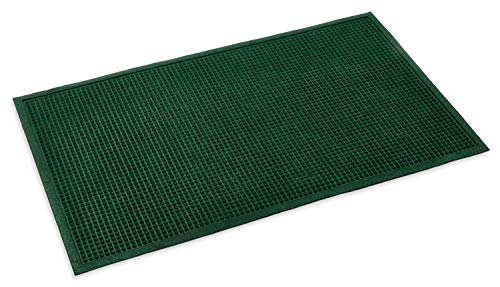 Kempf Commercial Grade Entrance Mat, Matching Color Border, Indoor, Outdoor Mat, Low 1/4