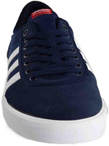 Adidas Heren Lucas Première Adv Skate Schoen Navy / Wit / Scarlet