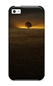 Iphone 5c Last Sign Hill Tree Night Sunset Trace Nature Other Print High Quality Tpu Gel Frame Case Cover