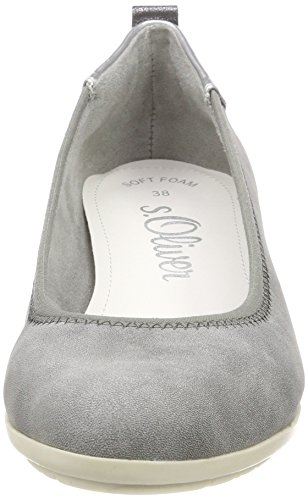 Closed 206 Women's Heels graphite oliver S Toe Grey 22302 npq6BtxwZ