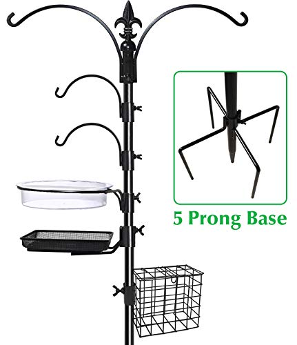 Gray Bunny GB-6844D Deluxe Premium Bird Feeding Station, 22