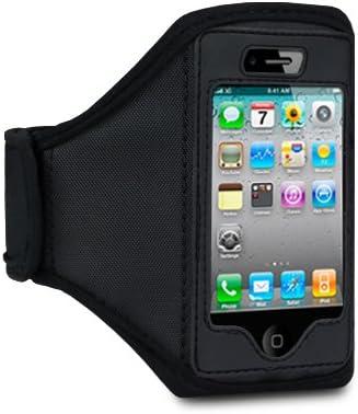 Funda Brazalete Cinta Brazo iPhone 4 y 4S color Negro: Amazon.es ...