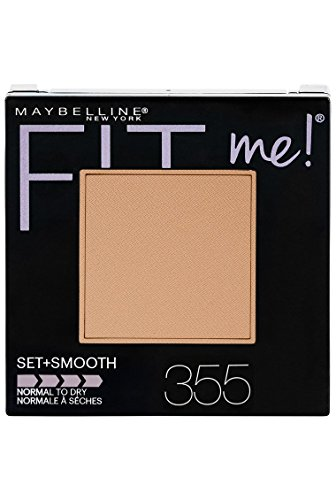 Maybelline New York Fit Me Set + Smooth Powder Makeup, Coconut, 0.3 oz.