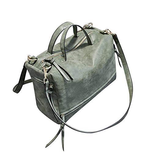 Designer Borsetta Donne Borse Green In Pelle Moontang Vera Grande Design Pelle Hobo Green 5qEtw4d