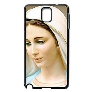 Custom DIY Virgin Mary Christian and Child Baby Jesus Hard Plastic Back Case for Samsung Galaxy Note 3 N9000 (Black 020301) by icecream design