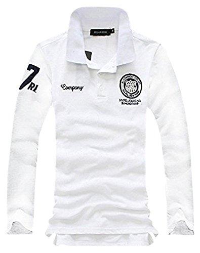 (キエモン) KIEMON ポロ シャツ メンズ カジュアル ゴルフ ウェア 長袖