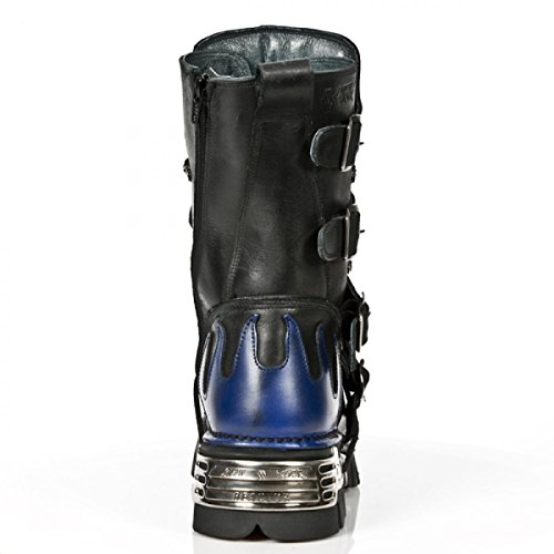 Nieuwe Rock Handgemaakte M 107 C5 Zwart Unisex Stiefel