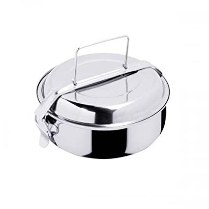 Fiambrera acero inox lunchbox Inoxibar diametro 14cm: Amazon ...