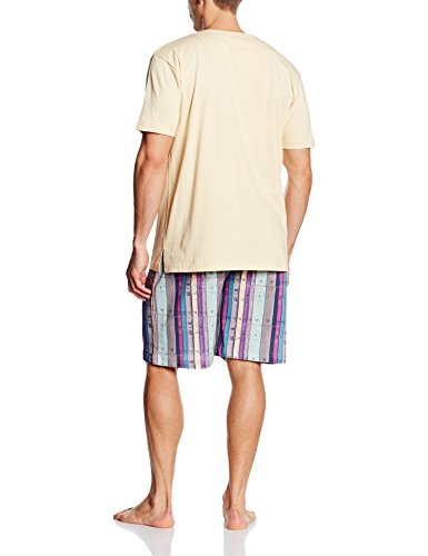 Pigiama Ts Multicolore Arthur Uomo set Bermuda gfxOqYvw