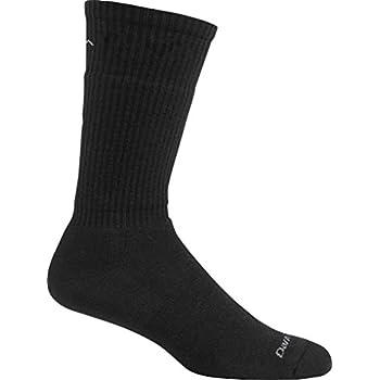 Image of Athletic Socks Darn Tough Standard Issue Mid Calf Light Sock, Black, X-Large / 12.5-14.5