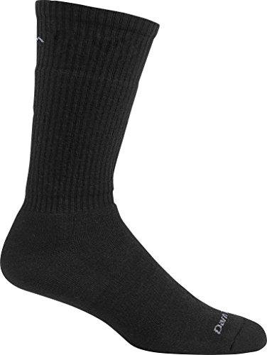 Darn Tough Standard Issue Mid Calf Light Sock,  Black,  X-La