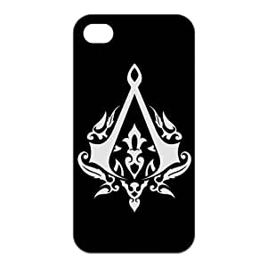 iphone 5 5s Case, Assassins Creed Hard TPU Rubber Snap-on Case for iphone 5 5s