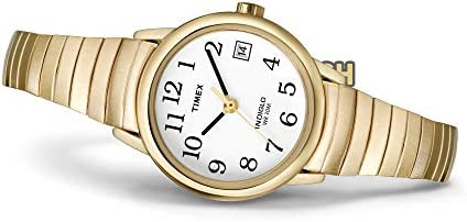 Timex Women's Easy Reader Date Expansion Band Watch WeeklyReviewer