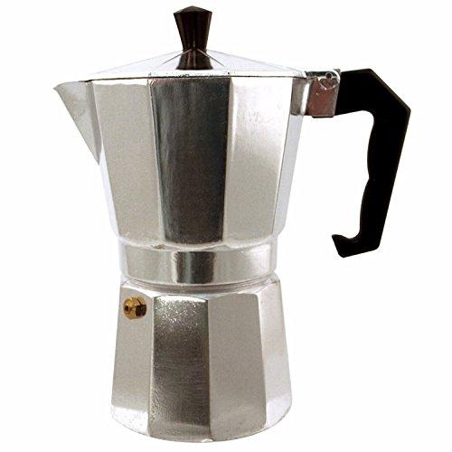 Euro Ware Kitchen Genie 9 Cup Espresso (Stovetop Espresso Set)