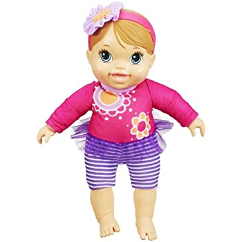 Amazon Com Baby Alive Bouncin Babbles Blonde Toys Amp Games