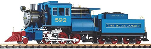 Piko 38241 Model G Steam Locomotive with Tender Camelback CNJ Blue Comet