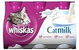 Whiskas Cat Food Milk 3 x 200 ml (Pack of 5)