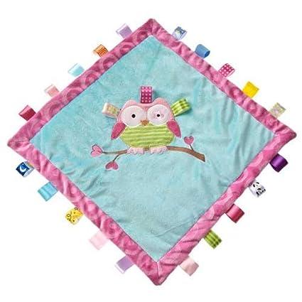 Newborn Tag Teddy Satin Blankie Blanket Taggie Toys Gift Whale Comforter New