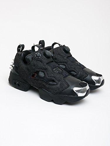 68341767e401 Reebok Men s Sneaker Instapump Halloween in Denim E Pelle Nera   Amazon.co.uk  Shoes   Bags