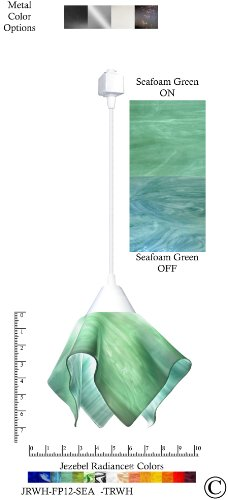Sea Glass Colored Pendant Lights in US - 4