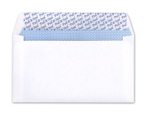 Ampad 74068 Evidence Envelopes, 3 5/8