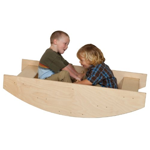 Wood Designs WD12000 Rock-A-Boat Play Unit by Wood Designs