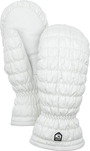 Hestra Extreme Cold Weather Winter Mittens: Hestra Moon Light Primaloft Insulated Gloves, White, 9