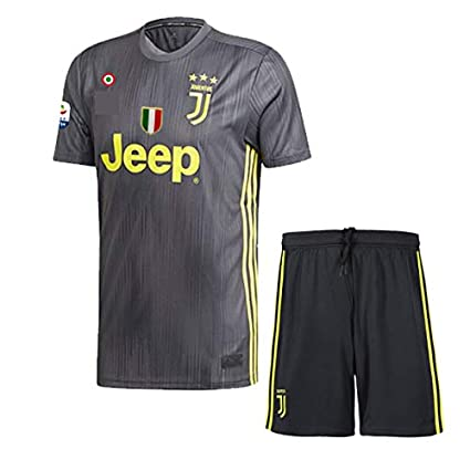 47af61492 Buy 2018-19 Juventus Jersey with Shorts Juventus Away Jersey Imported  Master Quality Jersey with SERIA A Patch Size M Online at Low Prices in  India ...