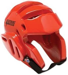 Red ProForce Lightning Sparring Headgear Small