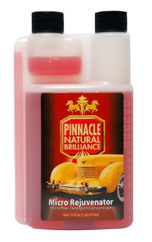 Pinnacle Natural Brilliance PIN-620 Micro Rejuvenator Microfiber Detergent Concentrate, 16 fl. oz. ()