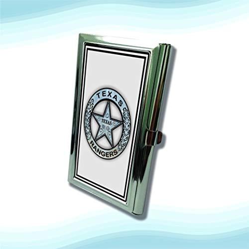 (Texas Ranger Badge Metal Business Cardholder)