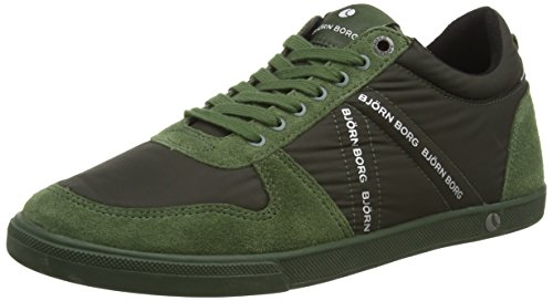 Björn Borg Men's X100 Low Rub M Leather Sneakers
