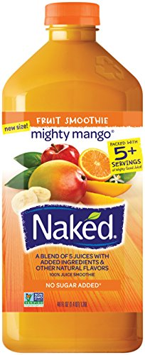 - Naked Juice Mighty Mango, 46 oz