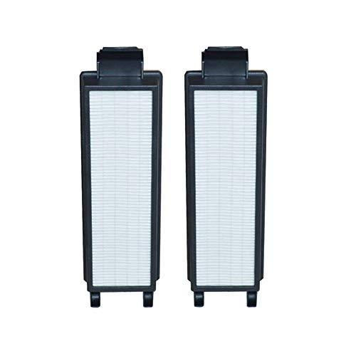 EZ SPARES 2Pcs Vacuum Cleaner Eureka HF5 HF-5 Vacuum HEPA Filter Fits Part # 61830, 61830A, 61840 Washable & Reusable Eureka Attachment