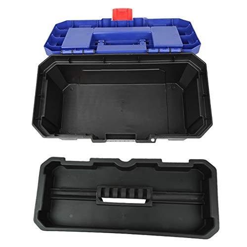 17 Cantilever Tool Box - ZSHLZG Toolbox Plastic Art Storage Box auto Repair car Parts Multi-Function Hardware Storage, 13.5/16/20/22.5 inches (Size : 36cm17cm20.5cm)