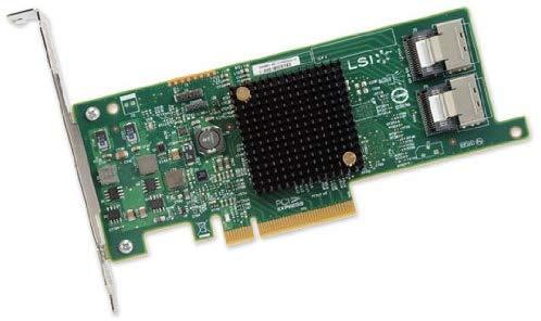 LSI Logic SAS 9207-8i Storage Controller LSI00301 (Renewed) by LSI Logic