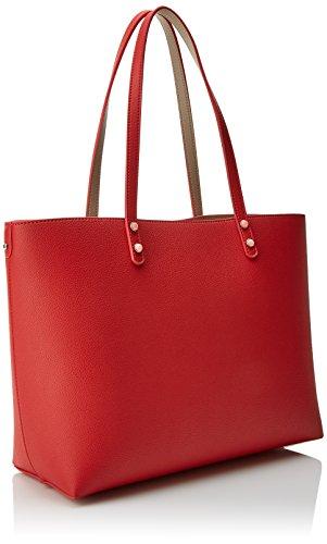 Tous Super Power - Borse Tote Donna, Multicolore (Topo-rojo), 15x28x34 cm (W x H L)