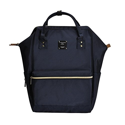 - BebamourCasual College Backpack Lightweight Travel Wide Open Back to School Backpack for Women&Men