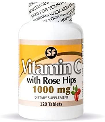 Vitamin C & Rose Hips 1000 mg