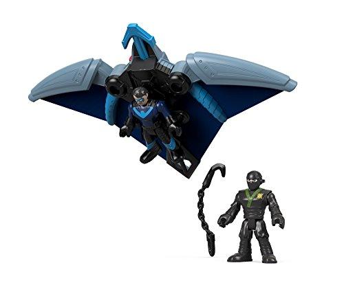 - Fisher-Price Imaginext DC Super Friends, Ninja Nightwing & Glider