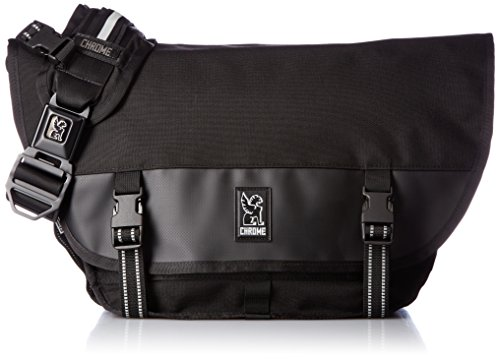 Chrome Industries Mini Metro Messenger Bag 15-inch Laptop Satchel Liter Black