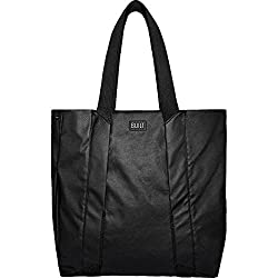 BUILT NY Womens Everyday Shopper Shoulder Tote Bag City Collection, Black