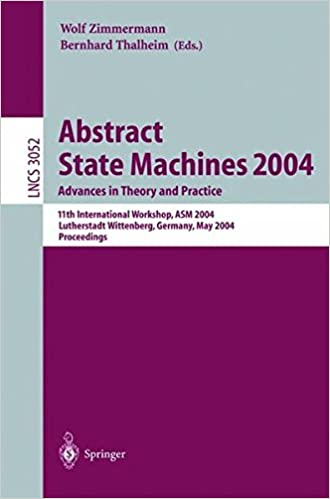 Abstract State Machines 2004. Advances in Theory and