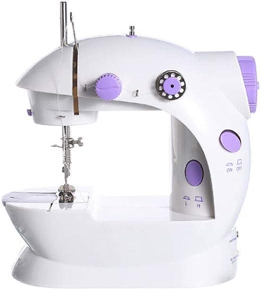 GSKTY Máquina de coser Casa multifunción sobremesa pequeña máquina de coser eléctrica 21 * 9 * 19. 5 cm: Amazon.es: Hogar