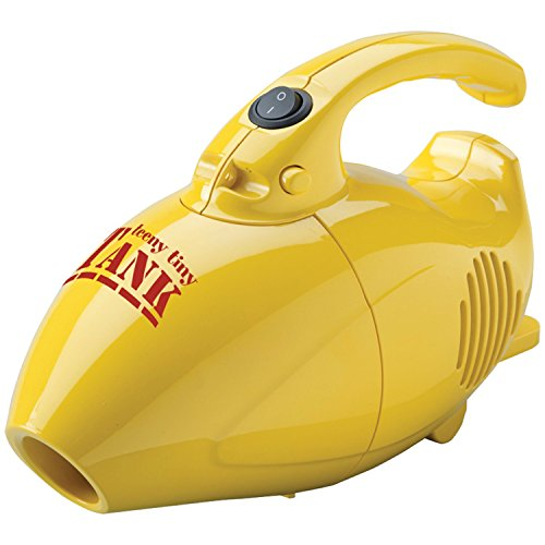 Carpet Pro SCT-1 Teeny Tiny Tank Hand Vacuum with Tools, Mini - Corded