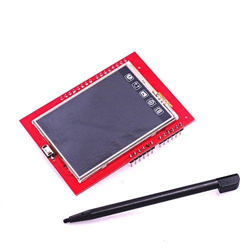 BUPADEALER LCD Module TFT 2.4 inch TFT LCD Screen for Arduino UNO R3 Board and Support mega 2560 with GIF Touch Pen