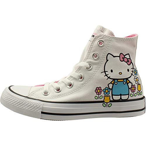 Hi Chuck White Trainers Canvas Kitty Taylor Adult pink Star White Hello Converse All pSWnap